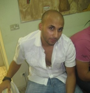 Mohamad Qwaider photo during his visit to the SOS village in Amman Jordan in August 2009 4
