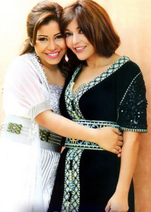 sherine Abdul Wahab and Samira Said together in a new studio photo 2