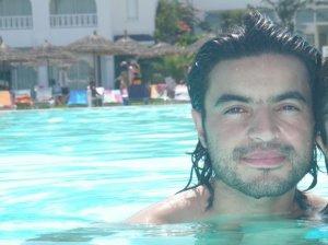 Zaher Zorgatti photo while swimming at the sea 2