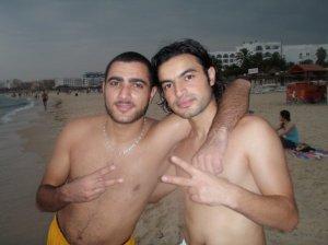 Zaher Zorgatti photo while swimming at the sea 6