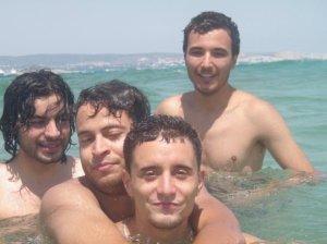 Zaher Zorgatti photo while swimming at the sea 3