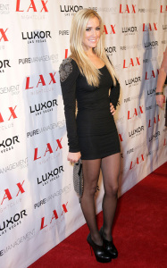 Kristin Cavallari arrives at the LAX nightclub inside the Luxor Resort Hotel Casino in Las Vegas on October 10th 2009 1