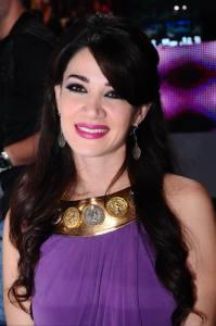 Nojoom Al Khaleej first prime picture of singer Diana Haddad