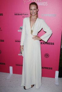 Amber Valletta attends the 6th Annual Hollywood Style Awards in Westwood Los Angeles on October 11th 2009