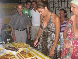 Amal Boshoshah photo with her friends and family at her birthday 9