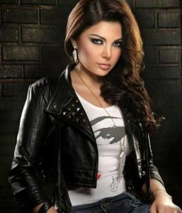 Haifa Wehbe studio photo shoot of september 2009 3