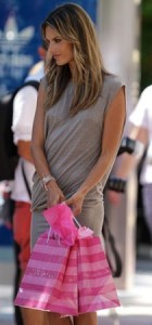Alessandra Ambrosio spotted while leaving a Victorias Secret store with many shopping bags in miami on October 8th 2009 2