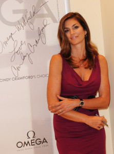 Cindy Crawford attends the opening of the Omega Boutique at The Village Westfield on October 15th 2009 in London England 2