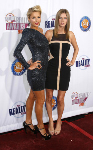Paris Hilton and Nicky Hilton arrive at the 2009 Fox Reality Channel Really Awards held at The Music Box in Los Angeles on October 13th 2009 1