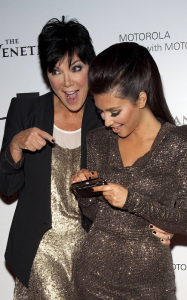 Kim Kardashian spotted at her Las Vegas birthday bash with her mother Kris Jenner at the trendy Tao Nightclub on October 16th 2009 2