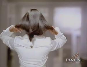Tuba Buyukustun picture from Pantene hair shampoo promotional video advertisement 7