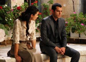 Photo from the turkish drama series Asi on mbc4 6