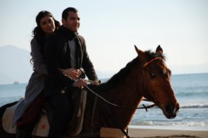 Photo from the turkish drama series Asi on mbc4 18 2