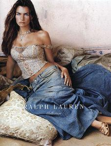 Filippa Hamilton photo The face of Ralph Lauren  spring 2003