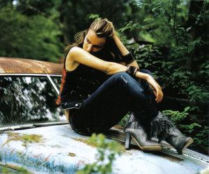 Filippa Hamilton photo at the Italian Elle editorial magazine of September 2008