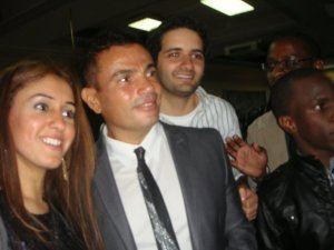 Amr Diab arrives at the 2009 African Music Awards on October 19th 2009 4