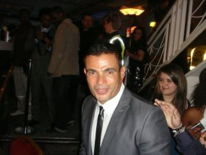 Amr Diab arrives at the 2009 African Music Awards on October 19th 2009 7
