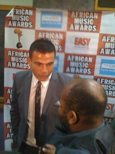 Amr Diab arrives at the 2009 African Music Awards on October 19th 2009 3
