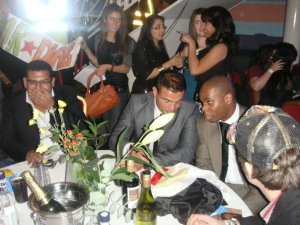 picture of Amr Diab at the 2009 African Music Awards on October 19th 2009 2
