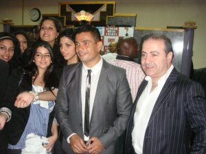 picture of Amr Diab at the 2009 African Music Awards on October 19th 2009 3