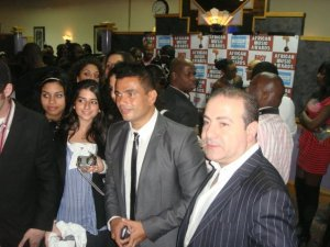 picture of Amr Diab at the 2009 African Music Awards on October 19th 2009 1