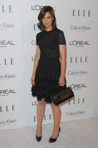 Katie Holmes attends the 16th Annual ELLE Women in Hollywood Tribute on October 19th, 2009
