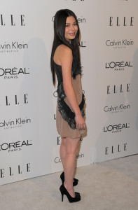 Miranda Cosgrove attends the 16th Annual ELLE Women in Hollywood Tribute on October 19th, 2009