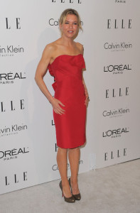 Renee Zellweger attends the 16th Annual ELLE Women in Hollywood Tribute on October 19th, 2009