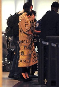 Lady Gaga spotted leaving Los Angeles International Airport on October 22nd 2009 3