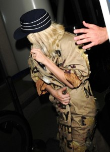 Lady Gaga spotted leaving Los Angeles International Airport on October 22nd 2009 1