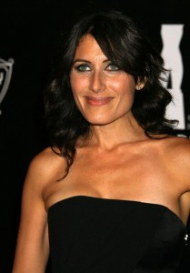 Lisa Edelstein attends the 2009 Rodeo Drive Walk Of Style Award Ceremony Honoring Princess Grace Kelly Of Monaco in Beverly Hills on October 23rd 2009 2