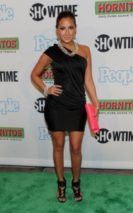 Adrienne Bailon attends the Bon Jovi When We Were Beautiful New York premiere at the SVA Theater on October 21st 2009 in New York City 3