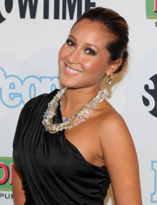 Adrienne Bailon attends the Bon Jovi When We Were Beautiful New York premiere at the SVA Theater on October 21st 2009 in New York City 1