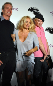 Pamela Anderson attending a PETA benefit dinner at the Ultra restaurant in Toronto Canada on October 22nd 2009 3