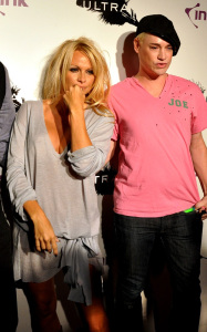Pamela Anderson attending a PETA benefit dinner at the Ultra restaurant in Toronto Canada on October 22nd 2009 5