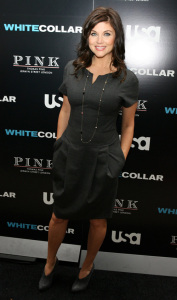 Tiffani Thiessen attends the movie premiere of White Collar Shirt Bar held at the Rockefeller Center in New York City on October 23rd 2009 7