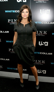 Tiffani Thiessen attends the movie premiere of White Collar Shirt Bar held at the Rockefeller Center in New York City on October 23rd 2009 5