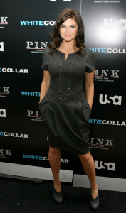 Tiffani Thiessen attends the movie premiere of White Collar Shirt Bar held at the Rockefeller Center in New York City on October 23rd 2009 6