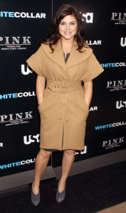 Tiffani Thiessen attends the movie premiere of White Collar Shirt Bar held at the Rockefeller Center in New York City on October 23rd 2009 3