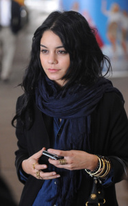 Vanessa Hudgens was spotted arriving at LAX International Airport on the morning of October 23rd 2009 3