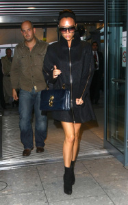 Victoria Beckham was spotted arriving at Heathrow Airport in London on October 23rd 2009 3