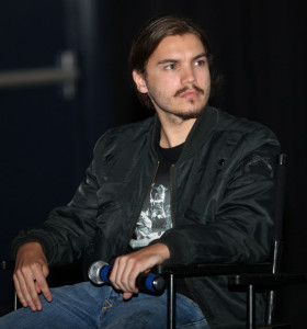Emile Hirsch at the Hollywood Film Festival screening of End Violence Against Women in Congo Symposium at the ArcLight Cinemas on October 24th 2009 in Los Angeles 4