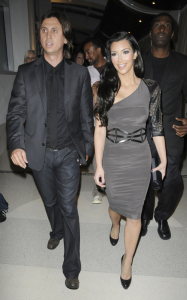 Kim Kardashian spotted arriving at LIV Nightclub in the Fontainebleau Hotel in Miami Florida on October 24th 2009 1