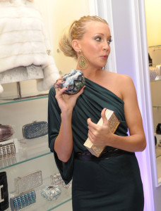 Katie Cassidy arrives at the Judith Leiber Boutique Opening on Rodeo Drive on September 23rd 2009 in Beverly Hills California 4