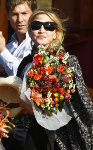 Madonna spotted at the construction site of a new academy for girls at Chinkhota village some 24km north of the capital Lilongwe Malawi on October 26th 2009 11