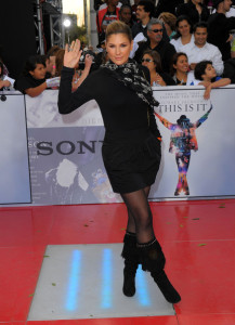 Daisy Fuentes arrives at the premiere of This Is It movie on October 27th 2009