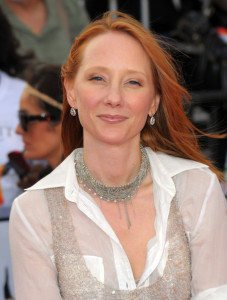 Anne Heche arrives at the premiere of This Is It movie on October 27th 2009