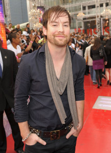 David Cook arrives at the premiere of This Is It movie on October 27th 2009
