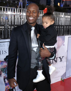 Tyrese Gibson arrives at the premiere of This Is It movie on October 27th 2009