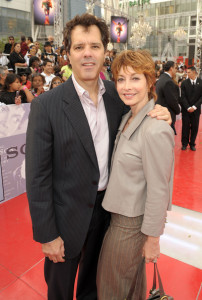 Sharon Lawrence arrives at the premiere of This Is It movie on October 27th 2009